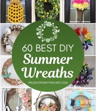 60 Best DIY Summer Wreaths