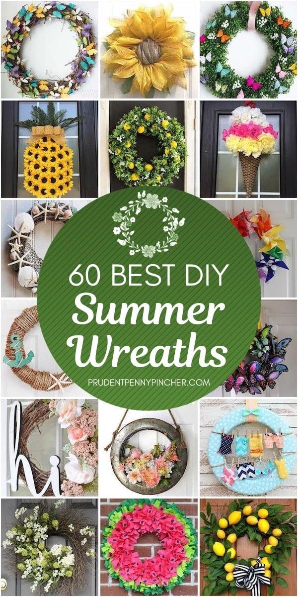 60 Best DIY Summer Wreaths