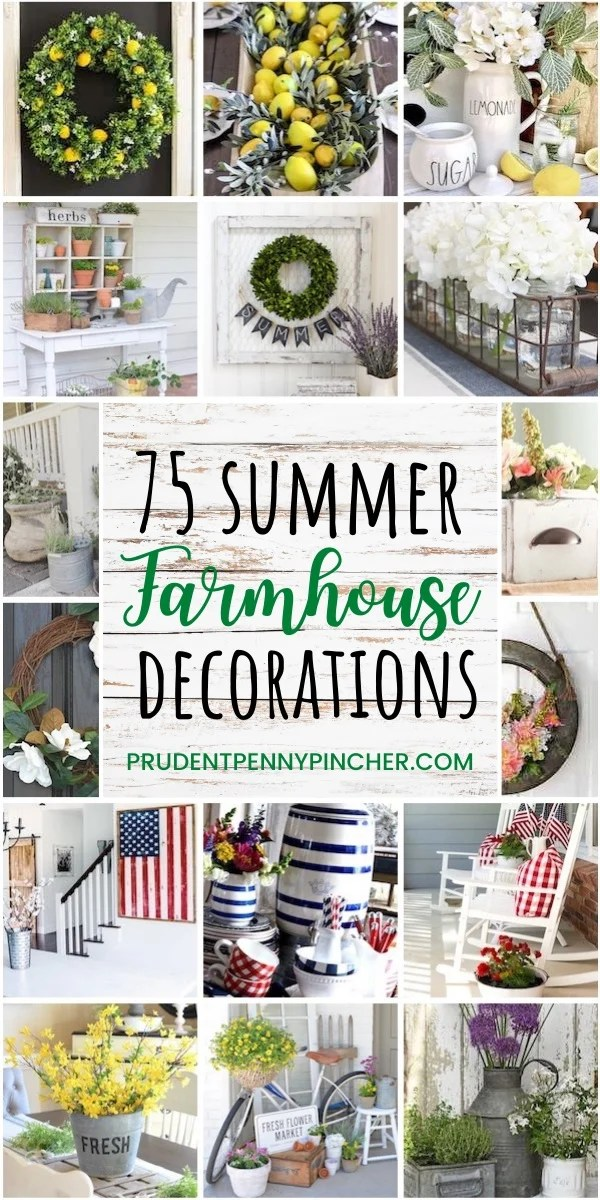DIY Summer Farmhouse Decor