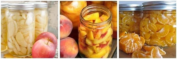 Canning Recipes for Fruit