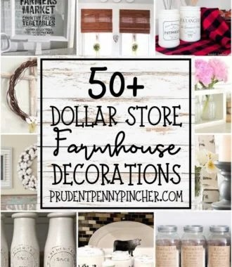 50 DIY Dollar Store Farmhouse Decorations