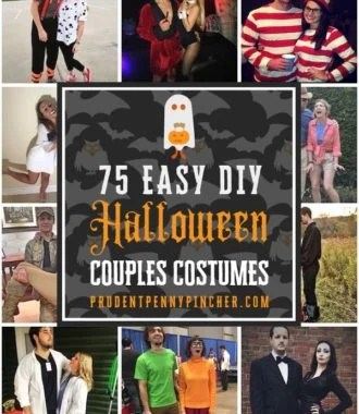 75 Easy DIY Halloween Couples Costumes