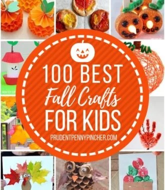 100 Best Fall Crafts for Kids