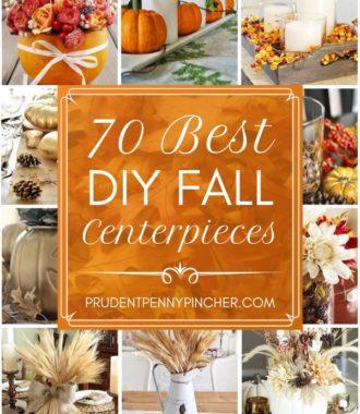 70 Best DIY Fall Centerpieces