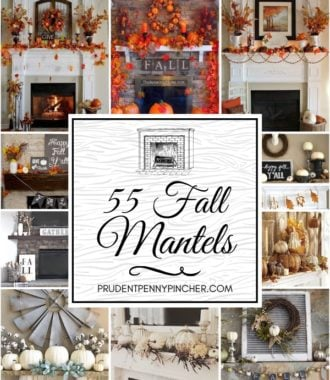 55 Best Fall Mantels