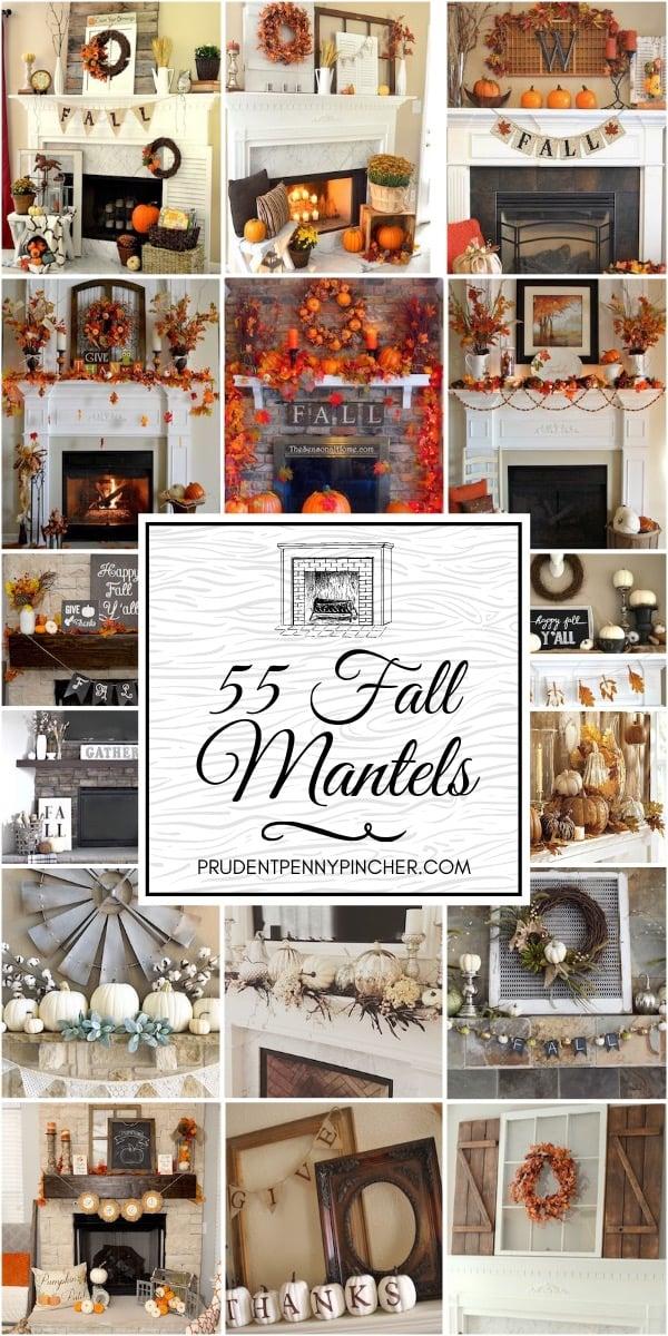 55 Best Fall Mantels