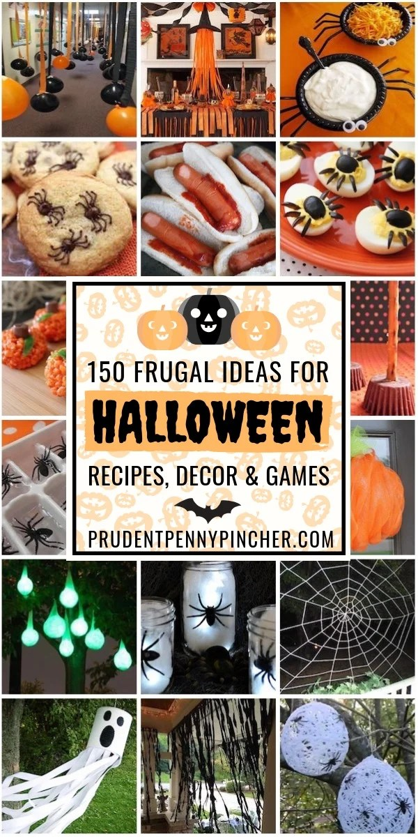 150 Frugal Halloween Ideas