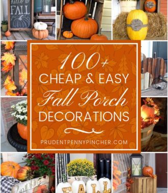 100 Cheap and Easy Fall Porch Decorations