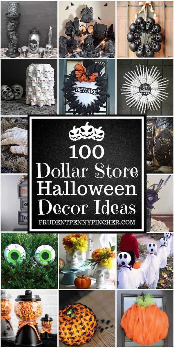 12 Dollar Store Halloween Decorations - Prudent Penny Pincher