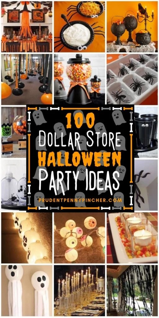 100 Dollar Store Halloween Party Ideas