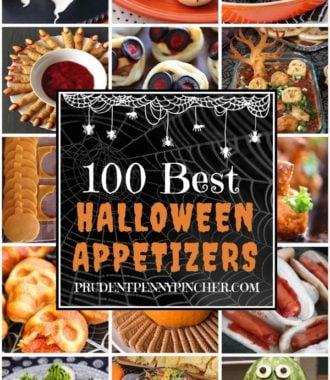 100 Best Halloween Party Appetizers
