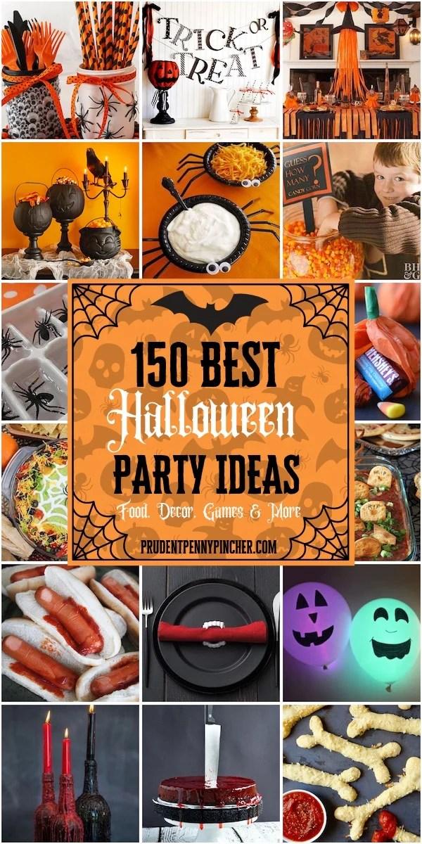 150 Best Halloween Party Ideas
