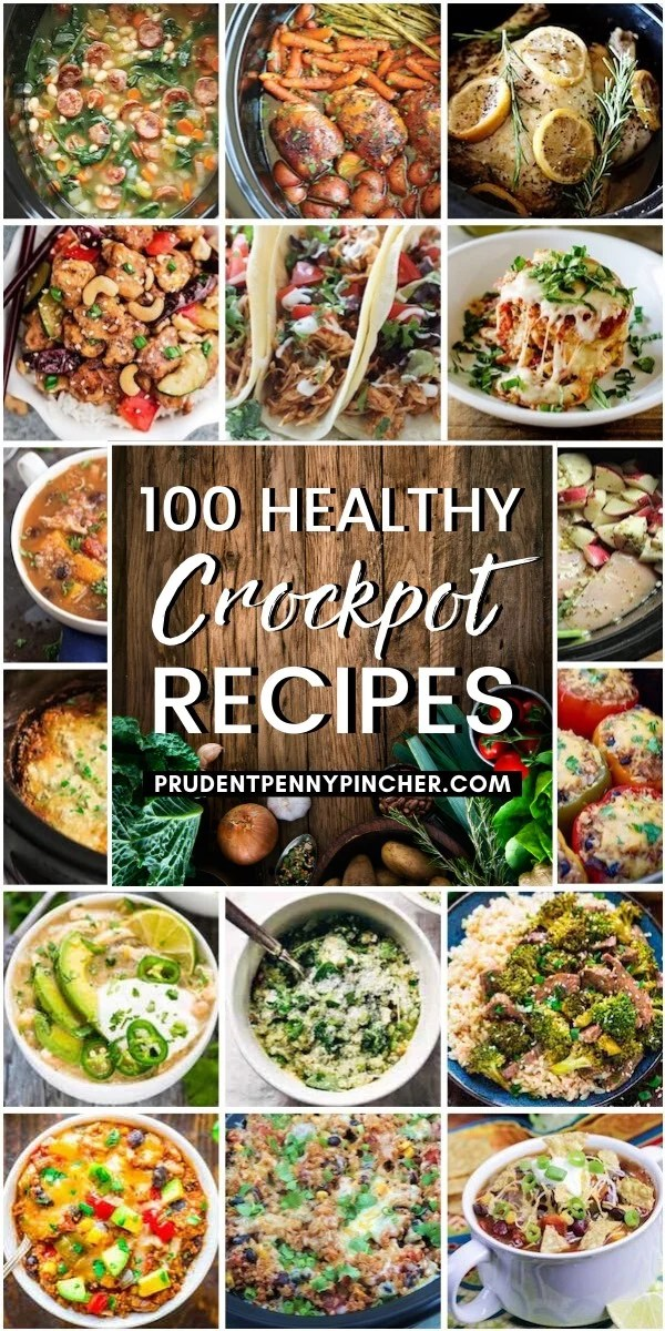 100 Healthy Crockpot Recipes