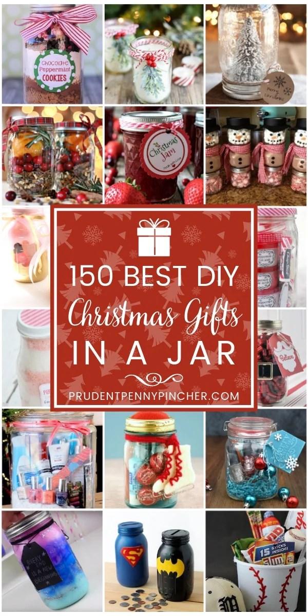 150 Best DIY Christmas Gifts in a Jar
