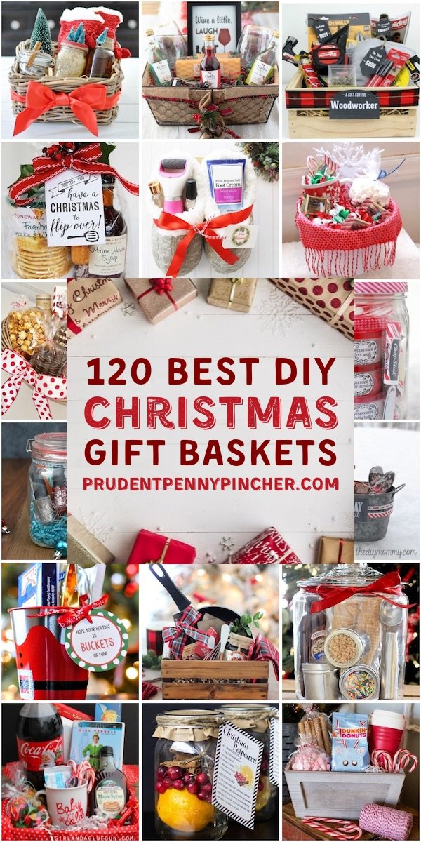 120 Diy Christmas Gift Baskets Prudent Penny Pincher