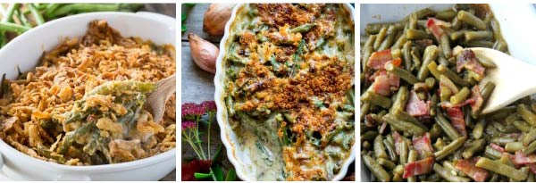 Green Bean Thanksgiving Casserole Recipes