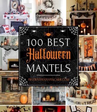 100 Best Halloween Mantels
