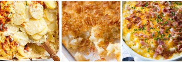 Potato Thanksgiving Casseroles