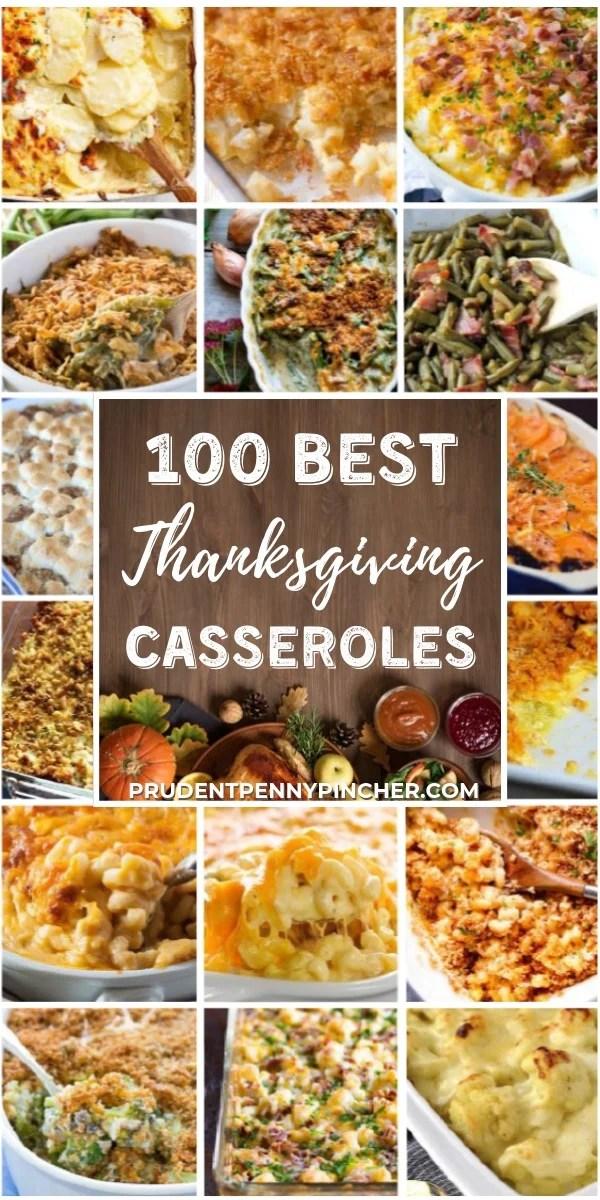 100 Best Thanksgiving Casseroles