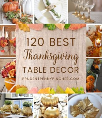 120 Best Thanksgiving Table Decorations