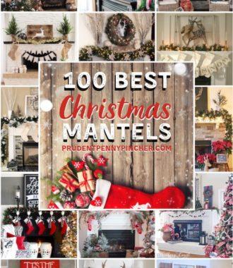 100 Best Christmas Mantels