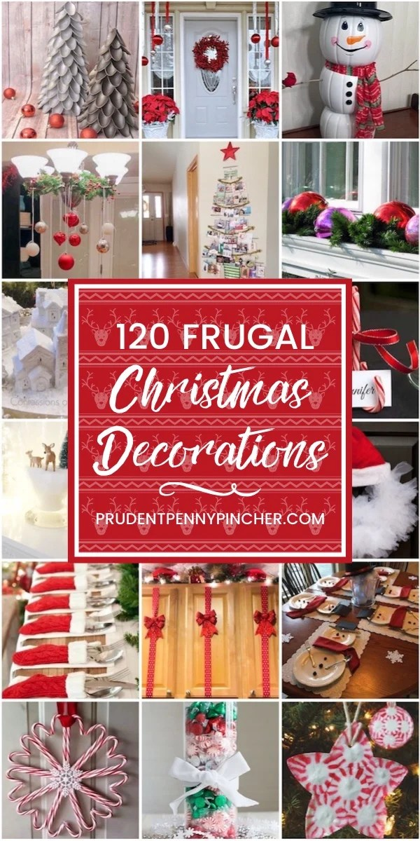120 Frugal Christmas Decorations