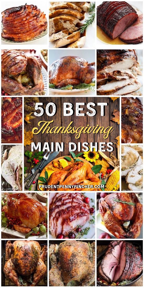 50 Main Dish Thanksgiving Dinner Recipes