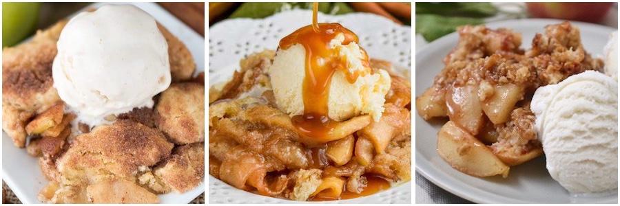 Apple Pie & Cobbler Thanksgiving Desserts