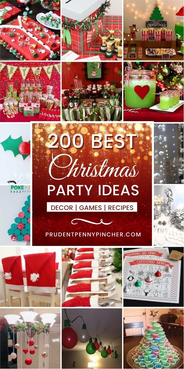 200 Best Christmas Party Idea