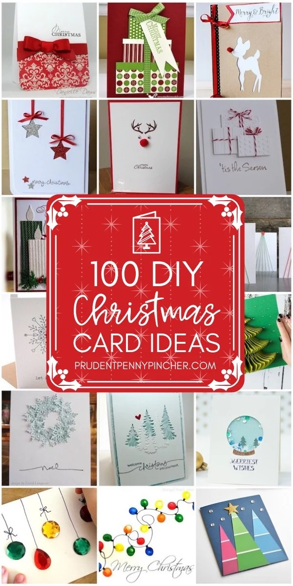 100 Best DIY Christmas Cards