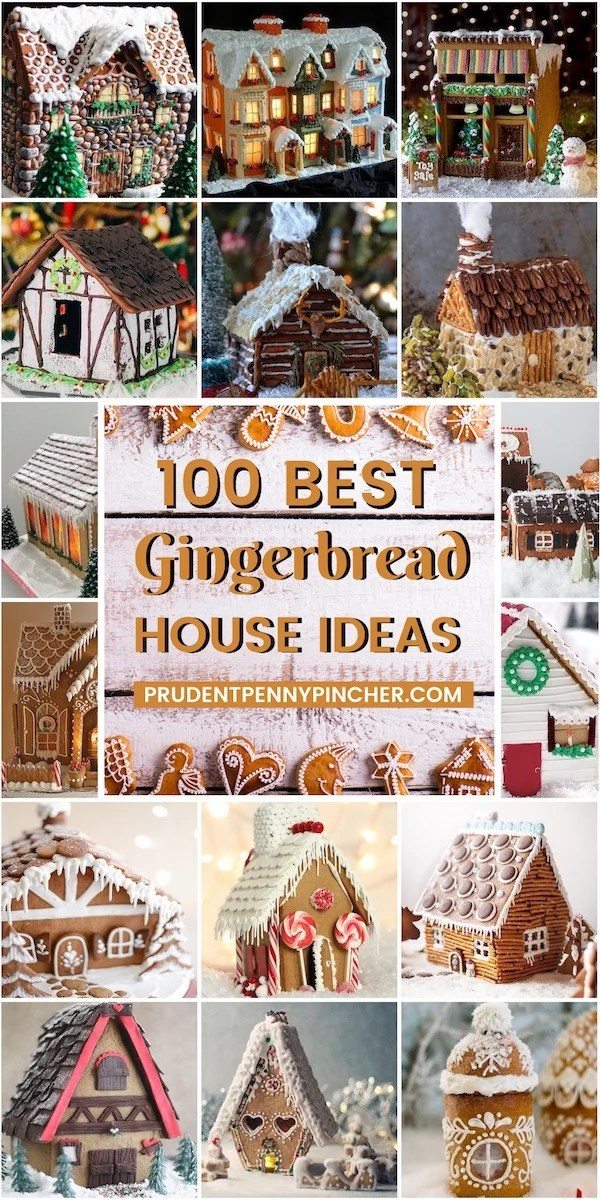 100 Best Gingerbread Houses