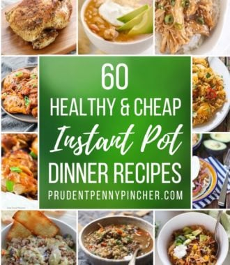 60 Healthy and Cheap Instant Pot Recipes
