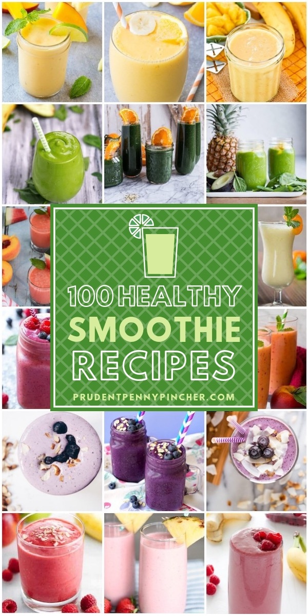 100 Healthy Smoothie Recipes