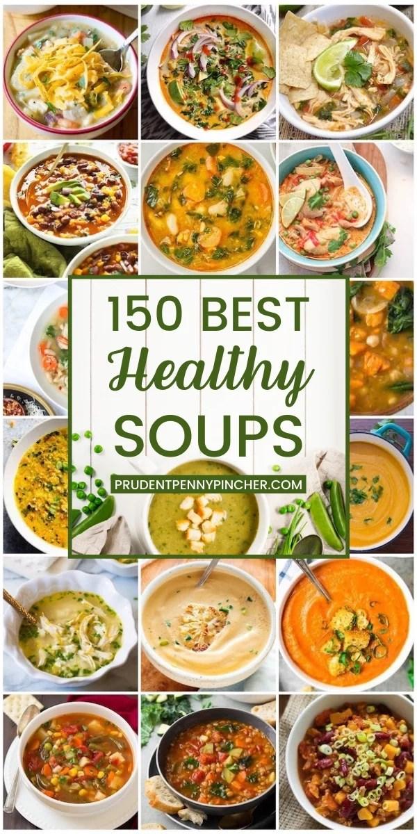 100 Healthy Soup Recipes
