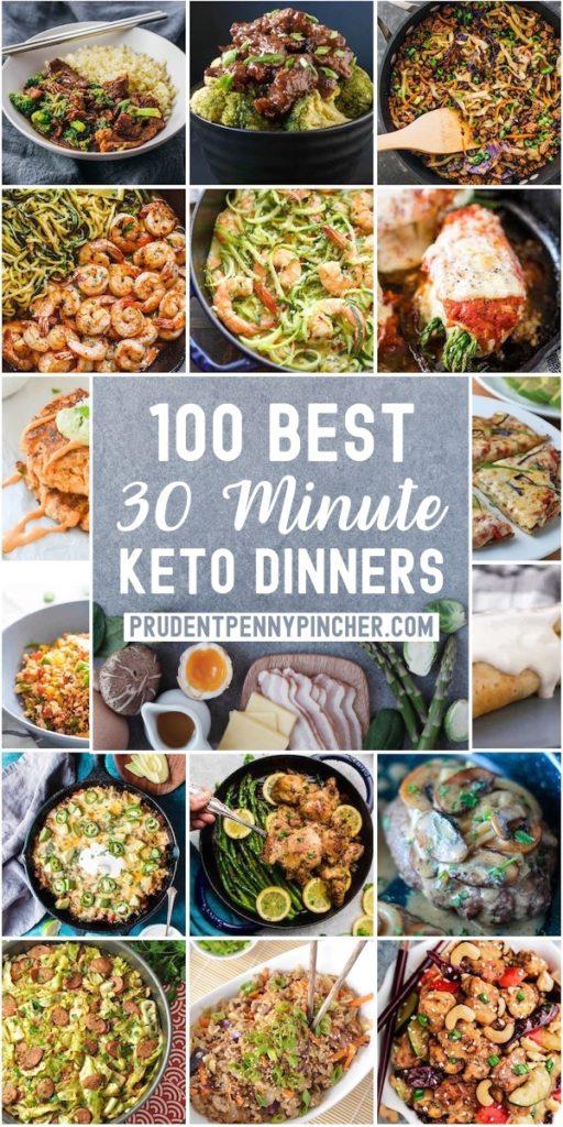 100 Best 30 Minute Keto Dinner Recipes