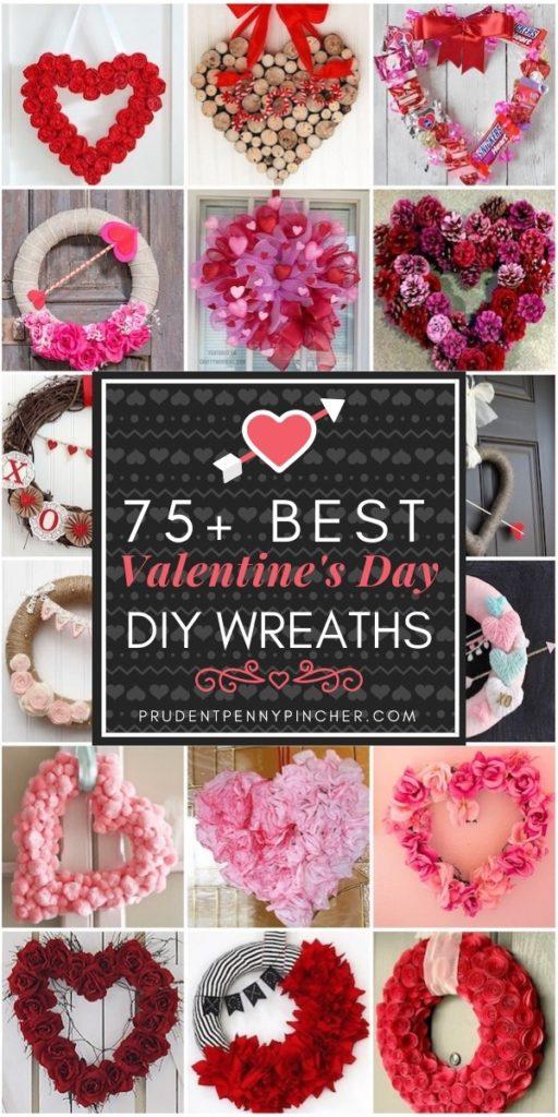 75 Best Valentine's Day Wreaths