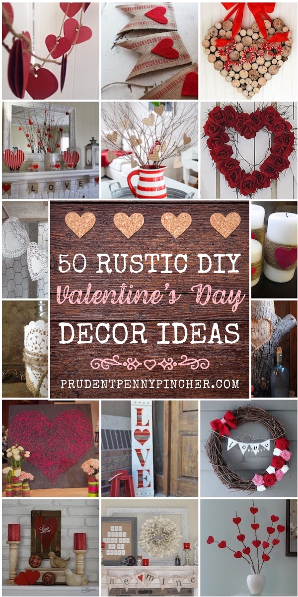 50 Best Rustic Valentine S Day Decor Prudent Penny Pincher