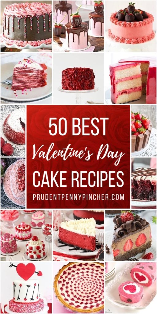 50 Best Valentine's Day Cakes