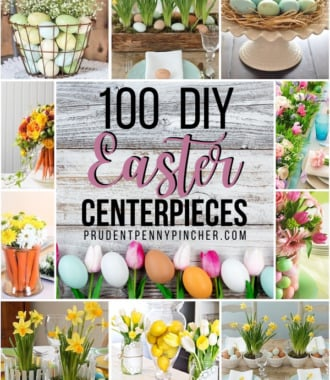 100 DIY Easter Centerpieces