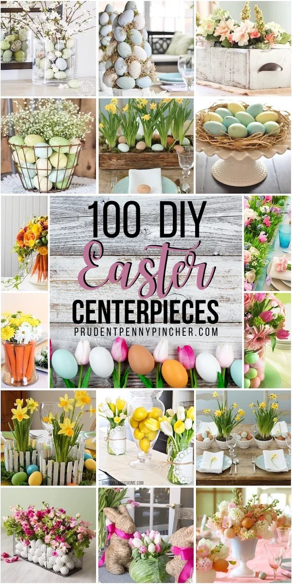 100 DIY Easter Centerpieces