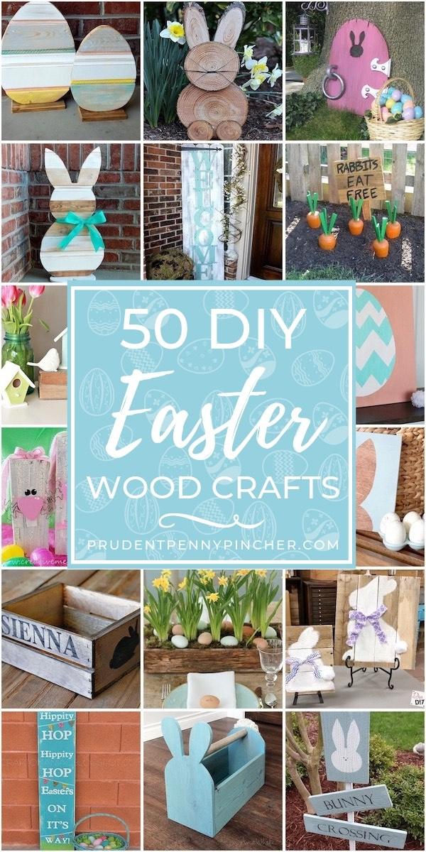 50 Best DIY Easter Wood Crafts