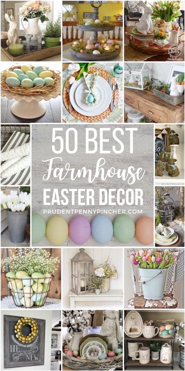 50 Best Farmhouse Easter Decor Ideas