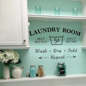 50 Dollar Store Diy Laundry Room Ideas Prudent Penny Pincher