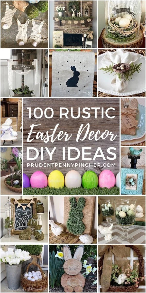 100 Rustic Easter Decor Ideas