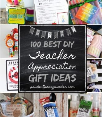 100 Best DIY Teacher Appreciation Gifts