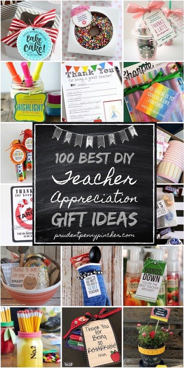 100 Best DIY Teacher Appreciation Gifts