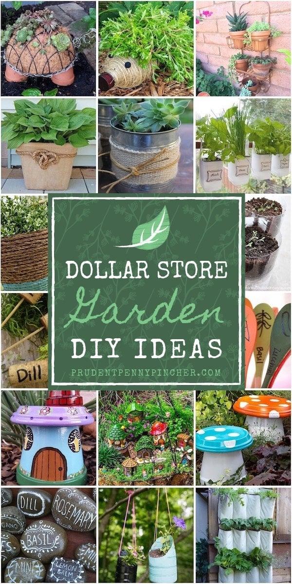 100 Dollar Store Garden DIY Ideas