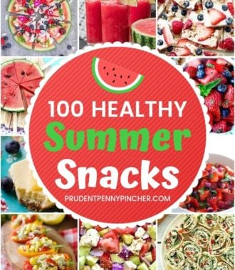 100 Healthy Summer Snacks