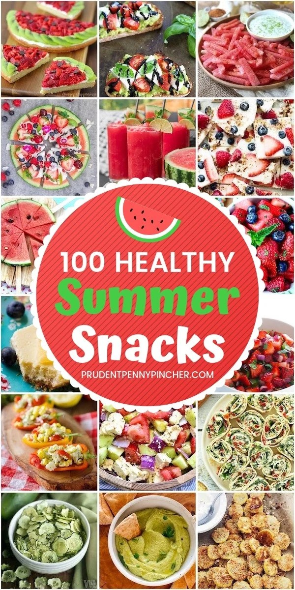100 Healthy Summer Snacks