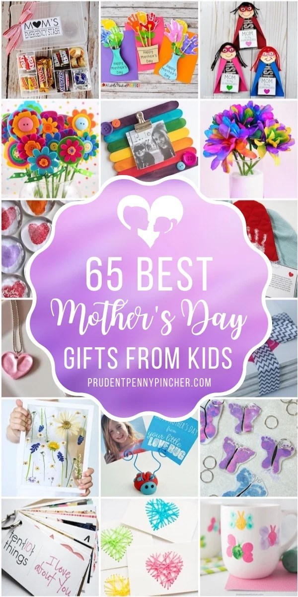 60 Best Mother S Day Gifts From Kids Prudent Penny Pincher